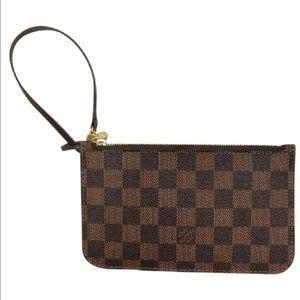 Louis Vuitton Damier Neverfull Pouchette