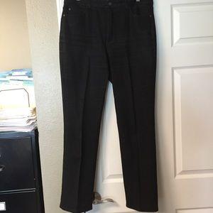 Black Coldwater Creek Jeans
