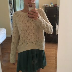 Off white urban outfitters sweater (M)
