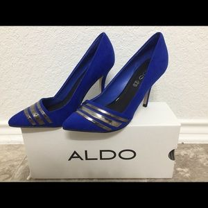 Royal blue Aldo heels