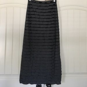 Sophie Max Stretchy Ruffled Maxi Skirt