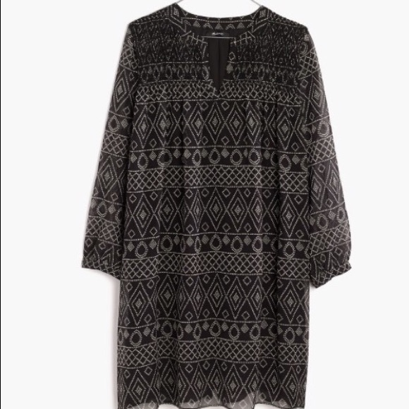 Madewell Dresses & Skirts - NWT! Sold Out Smock Dress in Caravan Print