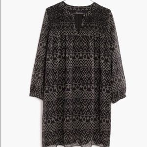 NWT! Sold Out Smock Dress in Caravan Print