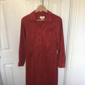 Suede Talbots dress