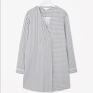 COS LONG OVERSIZED STRIPE TOP( Brand New)