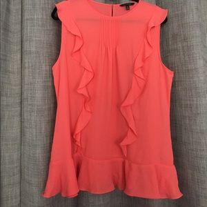 Banana Republic ruffle blouse
