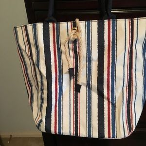 Never Used Estée Lauder Red, White and Blue Tote
