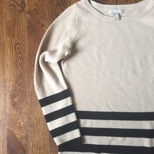 Banana Republic Natural Wool Cashmere Sweater