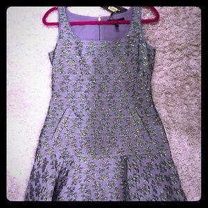 BCBG Lavender Cocktail Dress