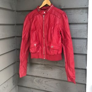 Charlotte Russe Red Jacket