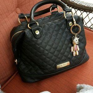 Handbags - Steve madden  black quilted handbag