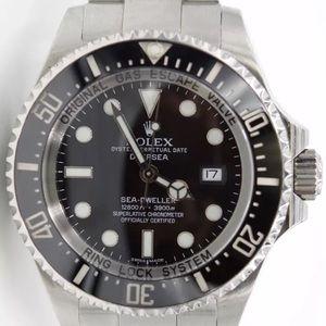 Rolex deep sea sea dweller 44mm black dial