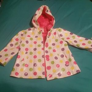 Jackets & Blazers - Kids hooded Polka-dot Rain Coat 18M
