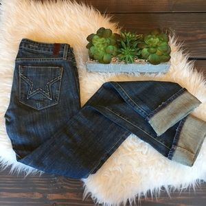 People's Liberation Distressed Skinny Jeans