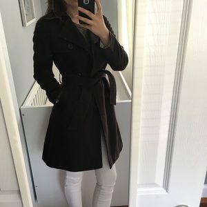 Gap brown trench coat