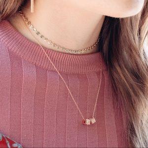 Le Bloc XO Necklace