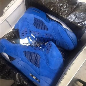 Other - Retro 5 Blue Suede (801) 829-1909 TO PURCHASE!!!