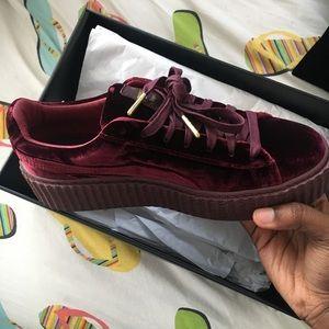Creeper Velet Rihanna sneakers