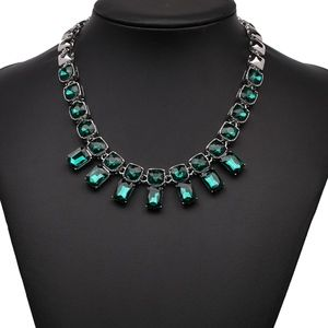 Coming Soon!! Green Crystal Statement Necklace