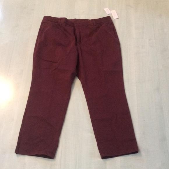 e8f57e37d39 CHristopher banks classic signature slimming pants