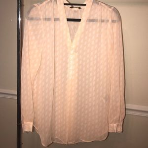 NEW BANANA REPUBLIC LONG SLEEVE BLOUSE