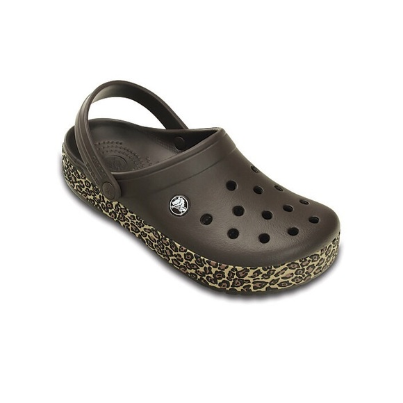 newest collection great prices affordable price NWT Cheetah/ Animal Print Crocs NWT
