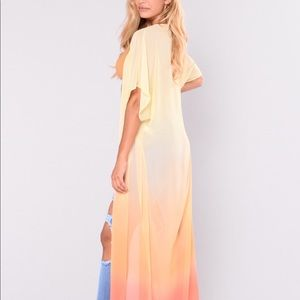 Fashion nova ombré kimono