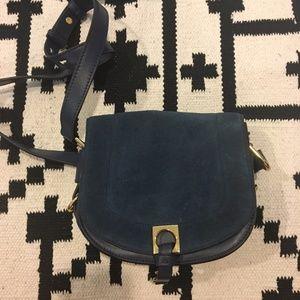 Ivanka Trump Bags - Ivanka Trump Claudia leather suede saddle bag
