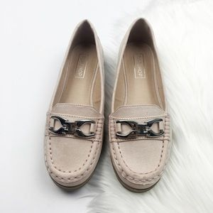 New Topshop Blush Loafers