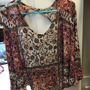 Paisley BOHO blouse!