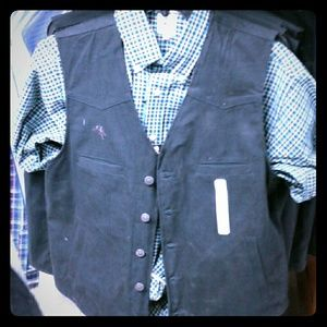 Other - New canves vest