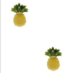 NWT KS Pineapple Studs