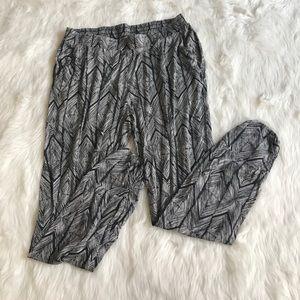 Anthropologie Lilka striped Harlem pants