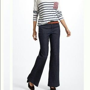 Anthro Daughters of the Liberation wide leg jeans