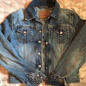 Levi's denim jacket S