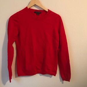 Red Banana Republic red merino wool sweater