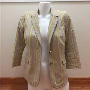 Juicy couture striped blazer