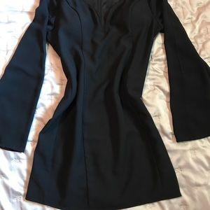 Black cocktail dress L