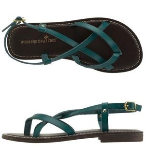 Montego Bay Club Green Sandals