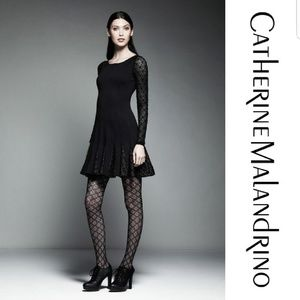 Catherine Malandrino Black Dress NWT