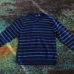 Boys Striped Sweater Size 8