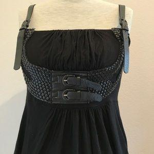 Sexy black BCBG medium dress
