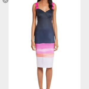 Ted Baker Jahner Marina Mosaic Bodycon Dress