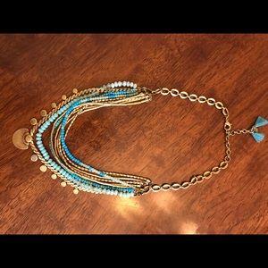 Stella & Dot Isa Disc Necklace