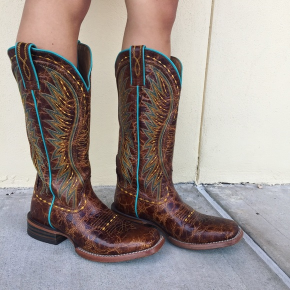 dae319aca81d Ariat Shoes - Ariat Vaquera Western Boots