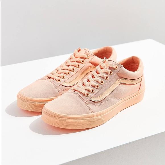 Peach vans