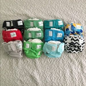 BOTTOM BUMPERS Size 1 Cloth Diaper Lot 👌🏼