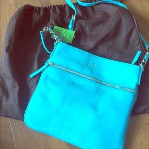 Kate Spade turquoise purse!
