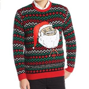 Other - MEN'S Ugly Santa Christmas Sweater Holiday Party