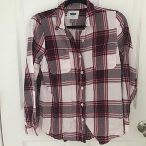 Size small old navy button down